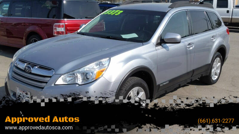 2013 Subaru Outback for sale at Approved Autos in Bakersfield CA