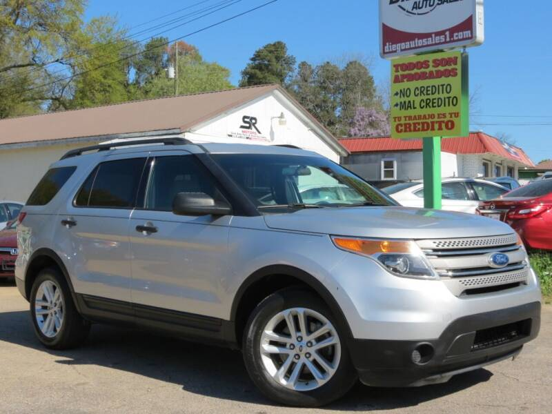 2015 Ford Explorer for sale at Diego Auto Sales #1 in Gainesville GA