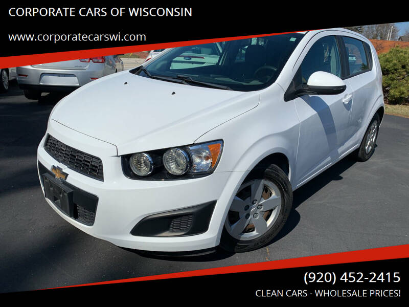 2016 Chevrolet Sonic for sale at CORPORATE CARS OF WISCONSIN in Sheboygan WI