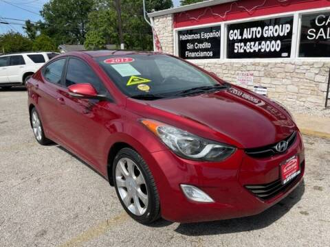2012 Hyundai Elantra for sale at GOL Auto Group in Austin TX