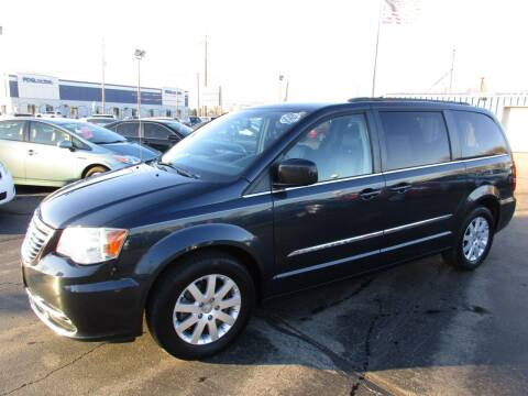 2014 Chrysler Town and Country for sale at TRI CITY AUTO SALES LLC in Menasha WI