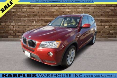 2013 BMW X3 for sale at Karplus Warehouse in Pacoima CA