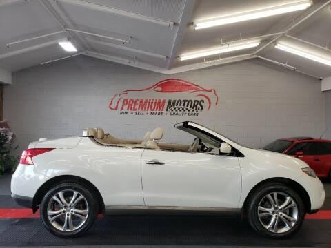 2012 Nissan Murano CrossCabriolet for sale at Premium Motors in Villa Park IL
