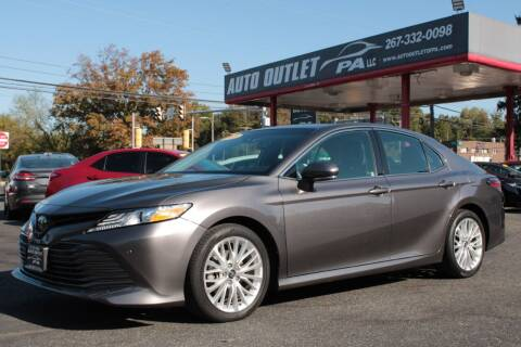 2018 Toyota Camry for sale at Deals N Wheels 306 in Burlington NJ