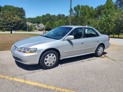 2001 Honda Accord for sale at WIGGLES AUTO SALES INC in Mableton GA
