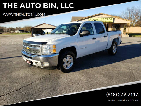 2012 Chevrolet Silverado 1500 for sale at THE AUTO BIN, LLC in Broken Arrow OK