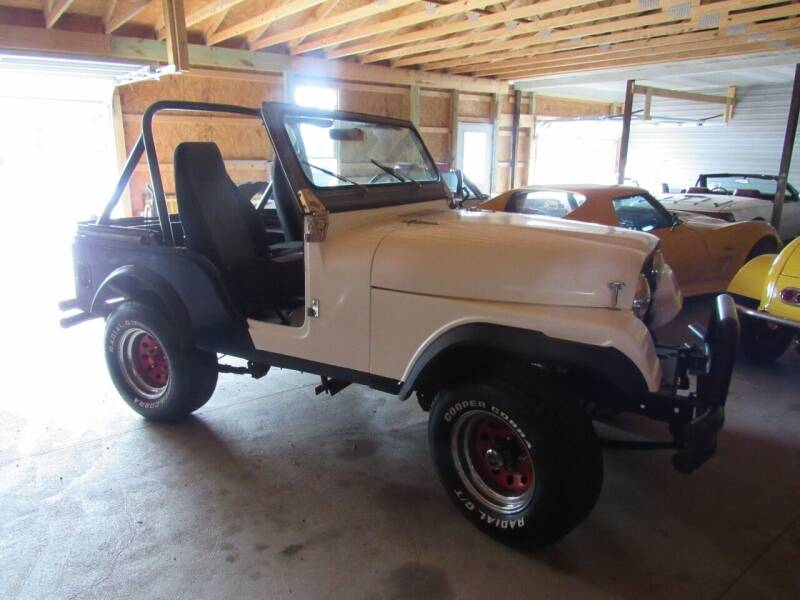 1976 Jeep CJ-5 for sale at Whitmore Motors in Ashland OH