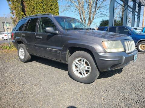 2004 Jeep Grand Cherokee for sale at Universal Auto Sales in Salem OR