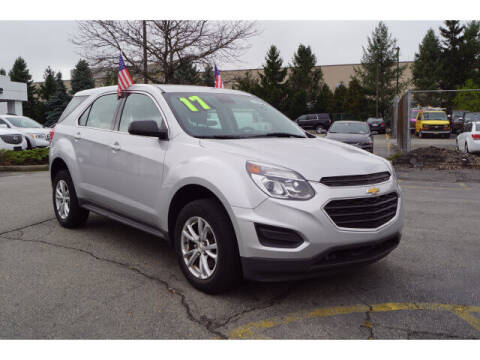2017 Chevrolet Equinox for sale at Classified pre-owned cars of New Jersey in Mahwah NJ