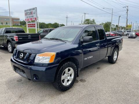 2008 Nissan Titan for sale at AutoLink LLC in Dayton OH