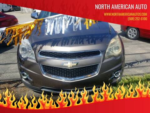 2012 Chevrolet Equinox for sale at North American Auto in Rehoboth MA