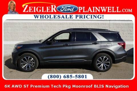 2020 Ford Explorer for sale at Zeigler Ford of Plainwell- Jeff Bishop in Plainwell MI