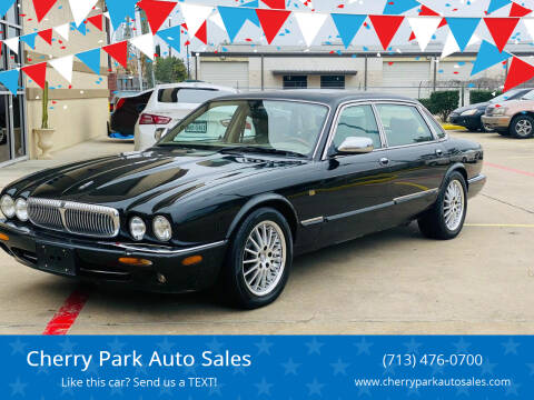 2000 Jaguar XJ-Series for sale at Cherry Park Auto Sales in Houston TX