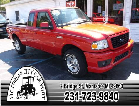 2006 Ford Ranger for sale at Victorian City Car Port INC in Manistee MI