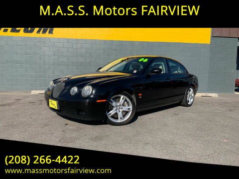 2006 Jaguar S-Type R for sale at M.A.S.S. Motors - Fairview in Boise ID