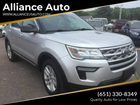 2018 Ford Explorer for sale at Alliance Auto in Newport MN