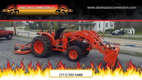 2013 Kubota L3940HST Elite Series for sale at Dave's Auto Connection LLC in Etters PA