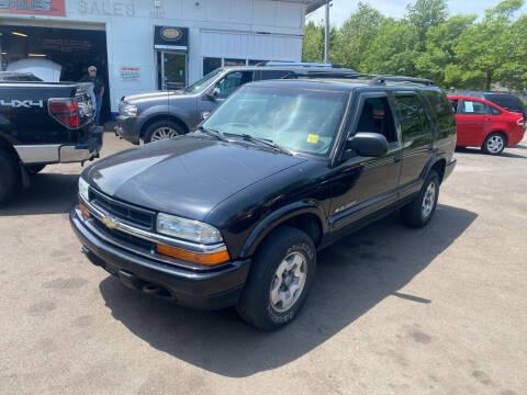 2002 Chevrolet Blazer for sale at Vuolo Auto Sales in North Haven CT