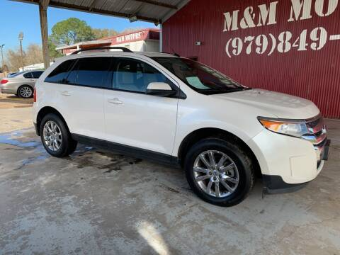 2012 Ford Edge for sale at M & M Motors in Angleton TX
