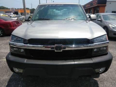 2003 Chevrolet Avalanche for sale at JacksonvilleMotorMall.com in Jacksonville FL
