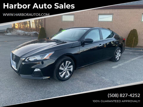 2019 Nissan Altima for sale at Harbor Auto Sales in Hyannis MA