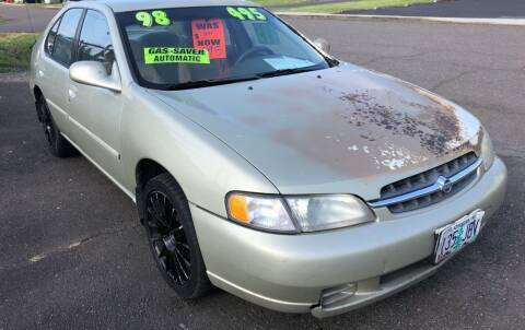 1998 Nissan Altima for sale at Freeborn Motors in Lafayette, OR