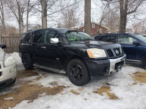 2005 Nissan Armada for sale at Northwoods Auto & Truck Sales in Machesney Park IL