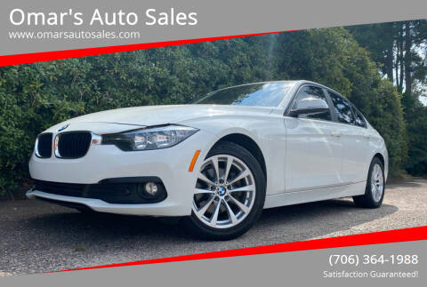 2016 BMW 3 Series for sale at Omar's Auto Sales in Martinez GA