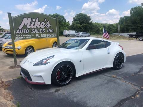 2016 Nissan 370Z for sale at Mikes Auto Sales INC in Forest City NC