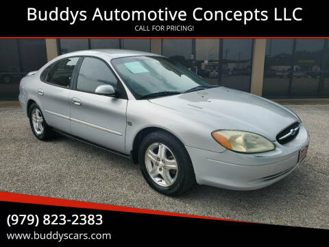 2002 Ford Taurus for sale at Buddys Automotive Concepts LLC in Bryan TX