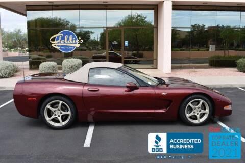 2003 Chevrolet Corvette for sale at GOLDIES MOTORS in Phoenix AZ