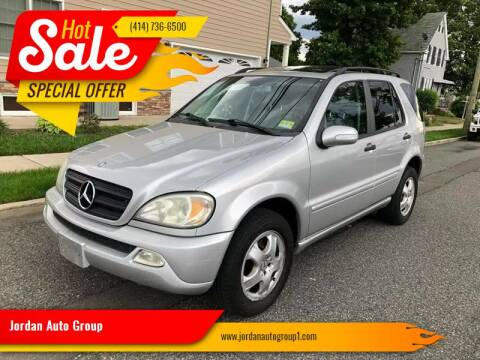 2003 Mercedes-Benz M-Class for sale at Jordan Auto Group in Paterson NJ