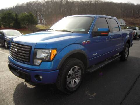 2012 Ford F-150 for sale at 1-2-3 AUTO SALES, LLC in Branchville NJ