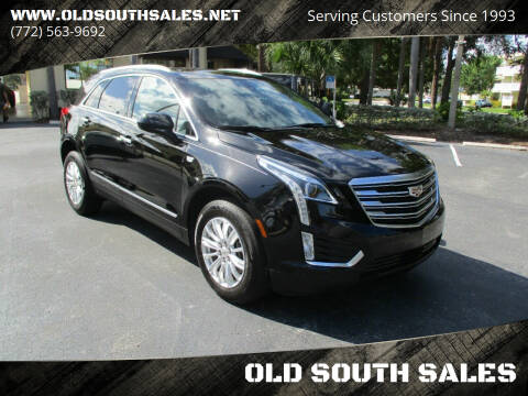 2017 Cadillac XT5 for sale at OLD SOUTH SALES in Vero Beach FL