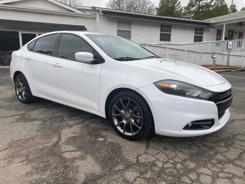 2013 Dodge Dart for sale at CVC AUTO SALES in Durham NC