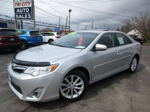2013 Toyota Camry for sale at TRI CITY AUTO SALES LLC in Menasha WI
