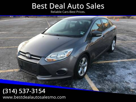 2013 Ford Focus for sale at Best Deal Auto Sales in Saint Charles MO