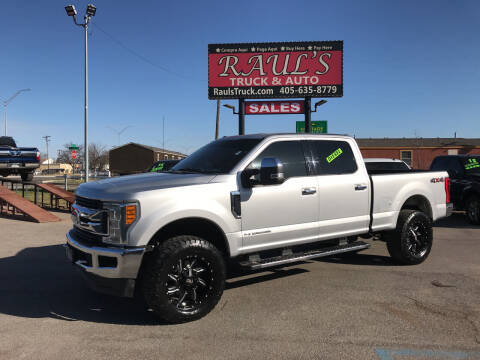 2017 Ford F-250 Super Duty for sale at RAUL'S TRUCK & AUTO SALES, INC in Oklahoma City OK