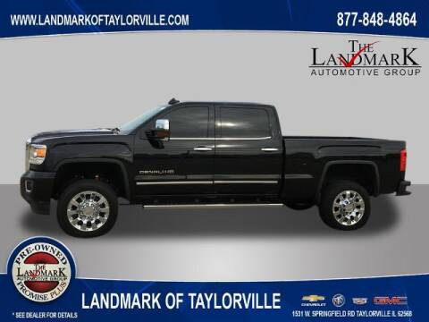2016 GMC Sierra 2500HD for sale at LANDMARK OF TAYLORVILLE in Taylorville IL