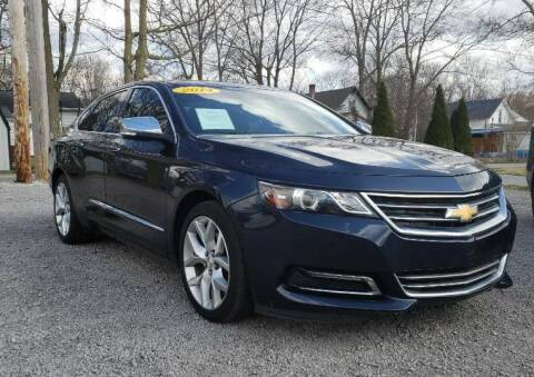 2014 Chevrolet Impala for sale at The Car Mart in Milford IN