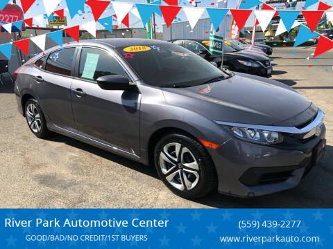 2018 Honda Civic for sale at River Park Automotive Center in Fresno CA