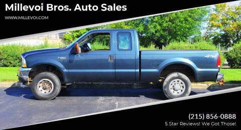 2004 Ford F-250 Super Duty for sale at Millevoi Bros. Auto Sales in Philadelphia PA