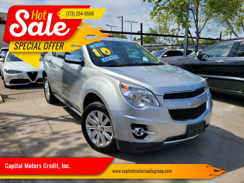 2010 Chevrolet Equinox for sale at Capital Motors Credit, Inc. in Chicago IL