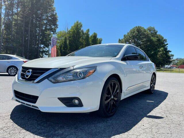 2017 Nissan Altima for sale at Airbase Auto Sales in Cabot AR