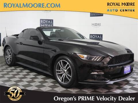2015 Ford Mustang for sale at Royal Moore Custom Finance in Hillsboro OR