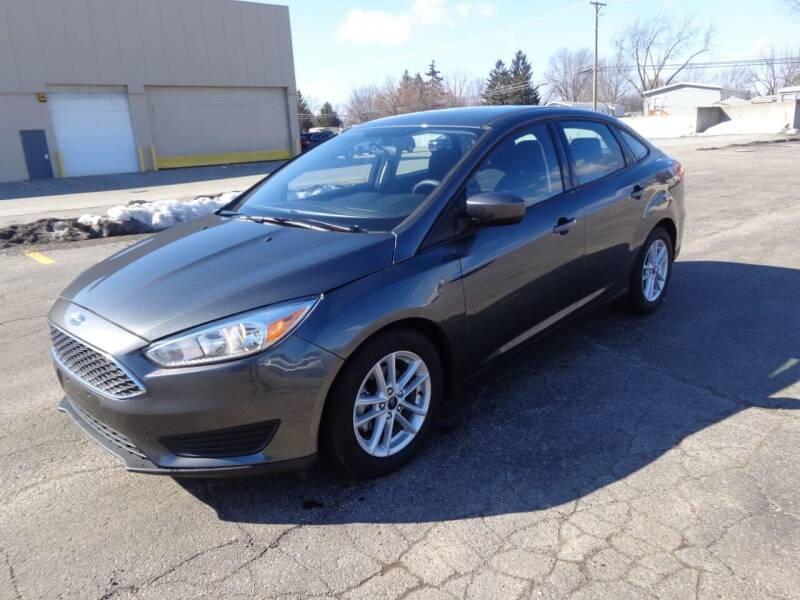 2018 Ford Focus for sale at A & R Auto Sale in Sterling Heights MI