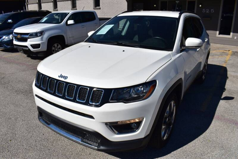 2019 Jeep Compass for sale at IMD Motors in Richardson TX