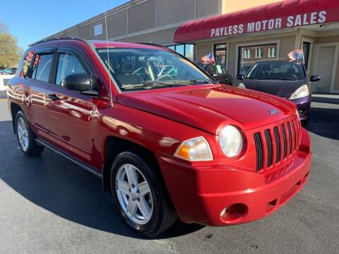 2008 Jeep Compass for sale at Payless Motor Sales LLC in Burlington NC