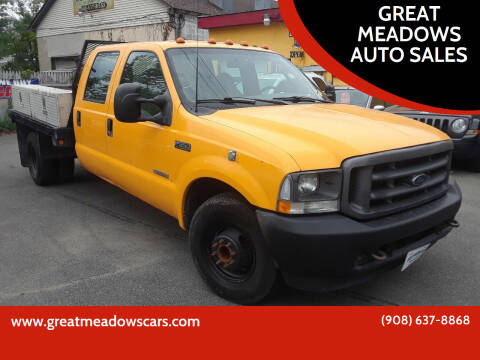 2003 Ford F-350 Super Duty for sale at GREAT MEADOWS AUTO SALES in Great Meadows NJ
