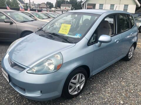 2007 Honda Fit for sale at EZ Auto Sales , Inc in Edison NJ